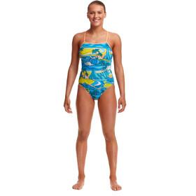 Funkita Eco Single Strap One Piece Swimsuit Women, summer bay